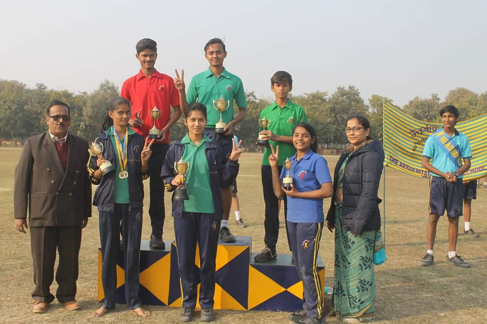 Highlights of Sports day meet
