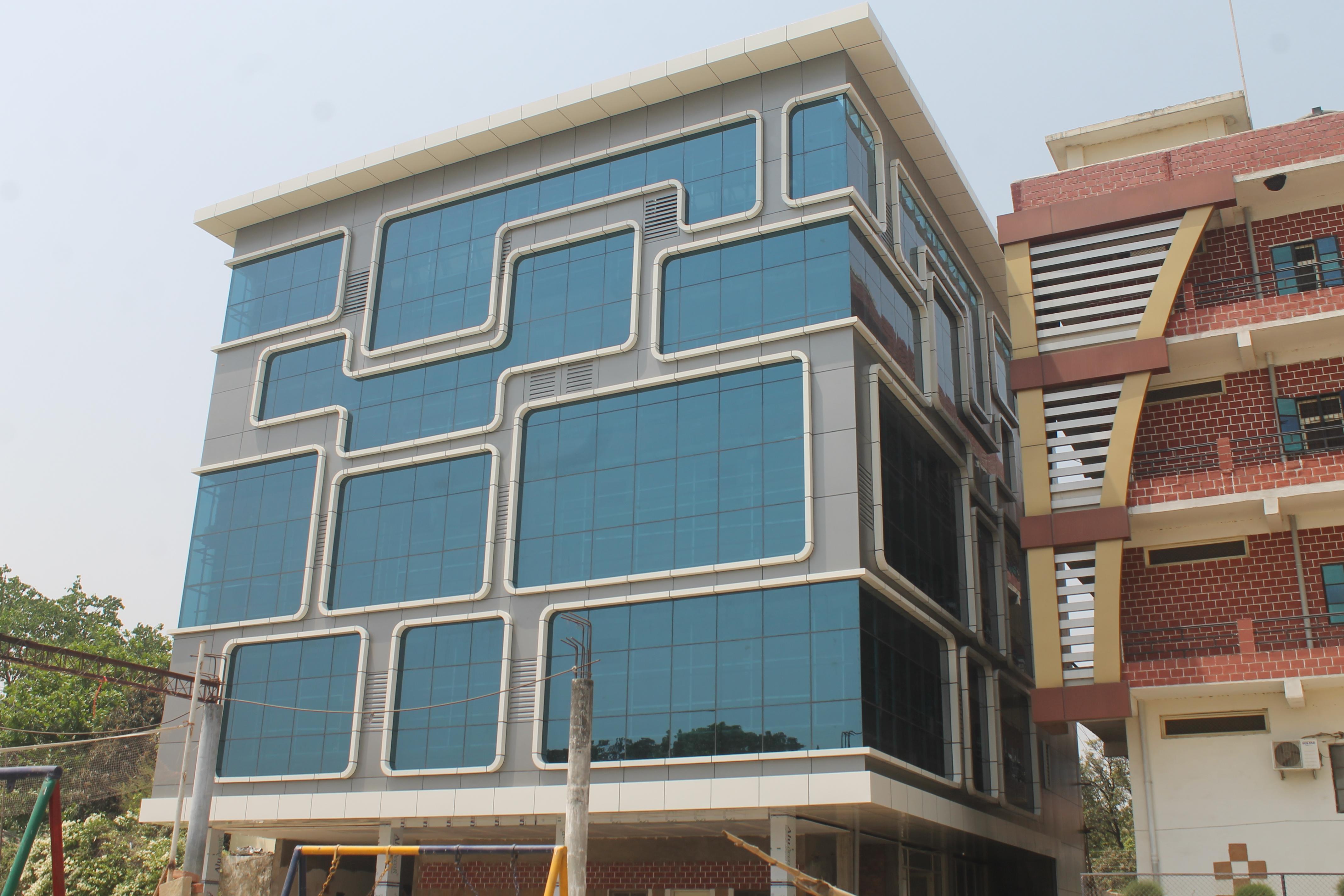New Building for The Aryan International School